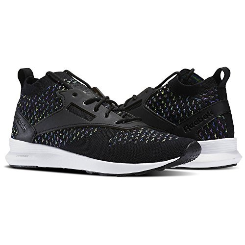 Reebok Men's Zoku Runner M Sneaker, Black/Vital Blue/Vicious, 7.5 M US