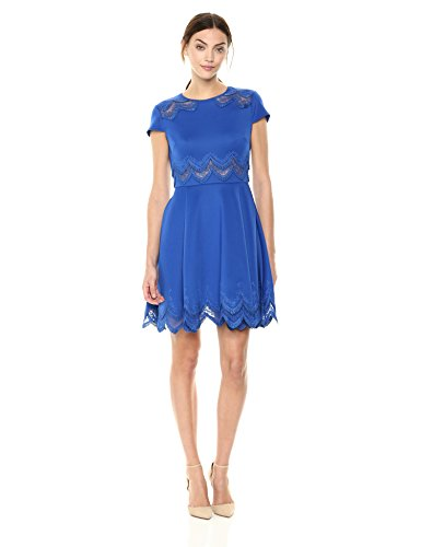 Ted Baker Women's Rehanna Dress, Mid Blue, 1