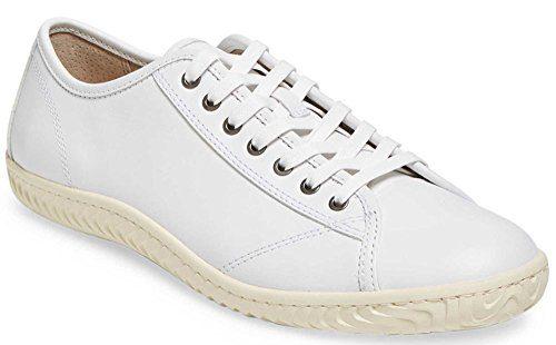 John Varvatos Star H Leather Low-Top Sneaker (11 US; White)