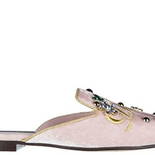 Dolce & Gabbana Women's Slippers Sandals Jackie Pink US Size 8.5