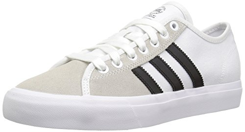 adidas Originals Men's Matchcourt RX Skate Shoe, FTWR White, Core Black, FTWR White, 7.5 M US