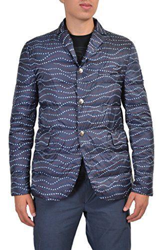 Moncler Gamme Bleu Men's Multi-Color Down Insulated Sport Coat Jacket Moncler 3 US L;