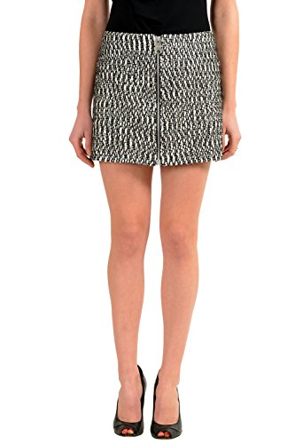 Versace Versus Multi-Color Full Zip Women's Mini Skirt US XS IT 38