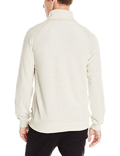 Publish Brand INC. Men's Behan Turtle Neck Sweater, Heather, Large
