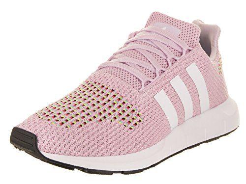 adidas Originals Women's Swift W Running-Shoes,aero Pink/White/core Black,10 M US