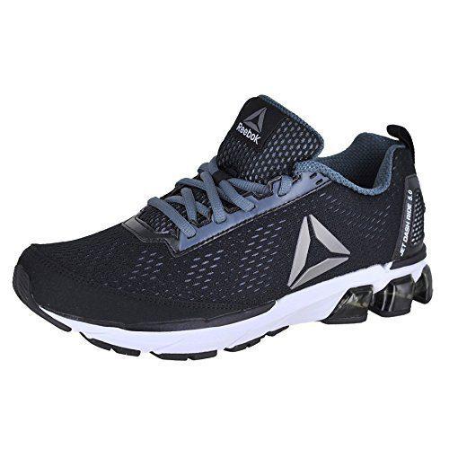 Reebok Men's Jet Dashride 5.0 Sneaker, Men's Black/Alloy/White/Pewter, 11 M US