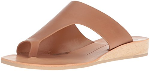 Dolce Vita Women's Hazle Slide Sandal, Caramel Leather, 6 M US