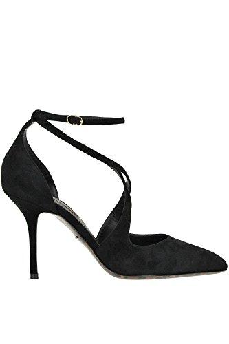 Dolce e Gabbana Women's Black Suede Pumps