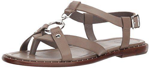 FRYE Women's Blair Harness Sandal, Grey, 7.5 M US