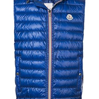 Moncler Men's Blue Polyamide Down Jacket