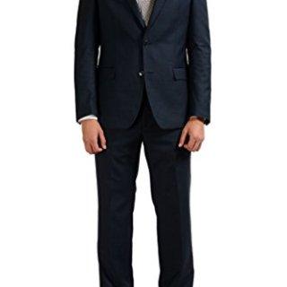Versace Collection Blue Men's 100% Wool Two Button Suit US 42 IT 52;