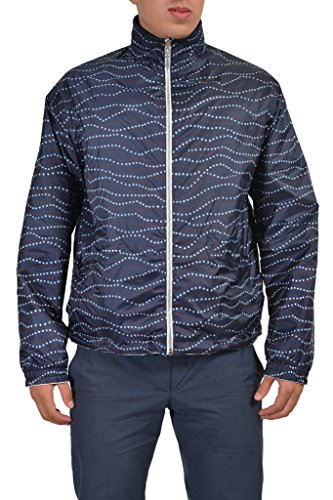 "Moncler ""Gamme Bleu"" Men's Multi-Color Full Zip Reversible Windbreaker Moncler Sz 2 US M"