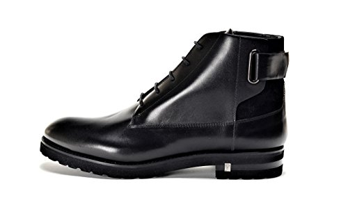 Versace Collection Men's Leather Ankle Boot Black US-11 IT 44