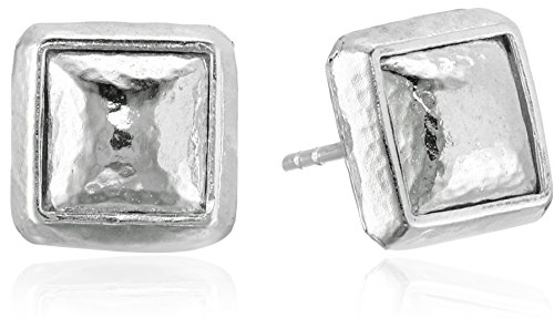 "GURHAN""Amulet"" Sterling Silver Square Stud Earrings"