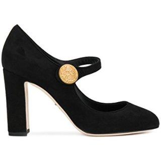 Dolce e Gabbana Women's Black Leather Pumps