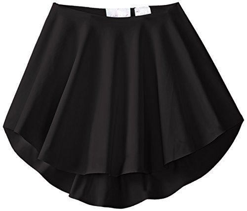 Capezio Little Girls' Diamond Lattice Circle Skirt, Black, Intermediate