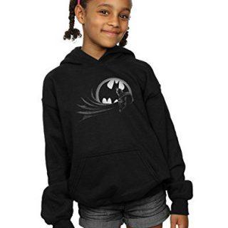 DC Comics Girls Batman Spot Hoodie 9-11 Years Black