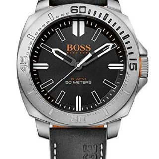 BOSS Orange Men's Sao Paulo Analog Display Japanese Quartz Black Watch