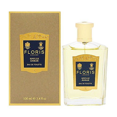 Floris London Soulle Ambar Eau De Toilette Spray for Women, 3.4 Ounce