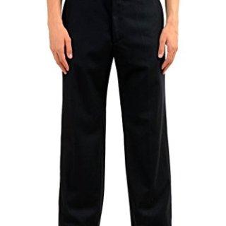 Gucci Men's 100% Wool Black Dress Pants US 32 IT 48