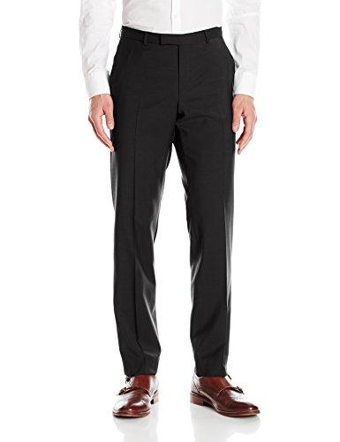 HUGO by Hugo Boss Men's Regular Fit Business Trousers, Black, 30R