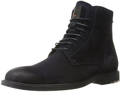 Hugo Boss BOSS Orange by Men's Clutroot Halb Work Boot, Dark Blue, 13 E US