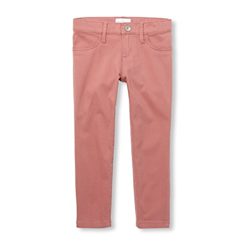 The Children's Place Big Girls' Solid Woven Jeggings, Fruit Cocktail, 8
