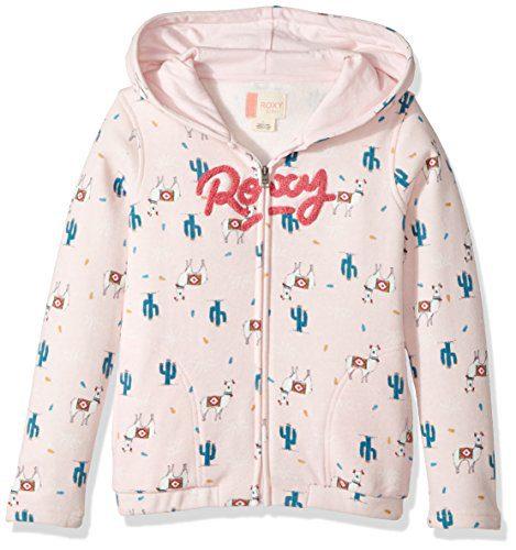 Roxy Little Girls' Let's Get Lost Hoodie, Rose