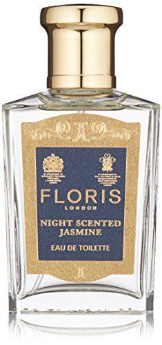 Floris London Night Scented Jasmine Eau de Toilette Spray, 1.7 Fl Oz