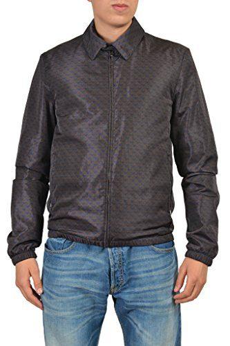 Gucci Men's Multicolor Full Zip Jacket US L IT 52;