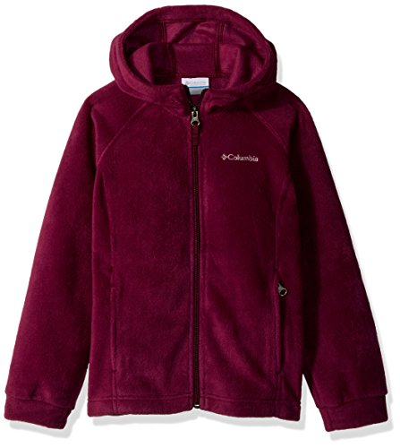 Columbia Little Girls' Benton II Hoodie, Dark Raspberry, Small
