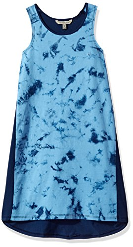 Calvin Klein Toddler Girls' Vapor Dyed Dress, Navy, 4T