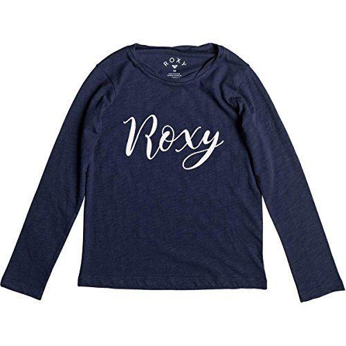 Roxy Girls Gradual Awakening B Long-Sleeve Shirts Medium Dress Blues