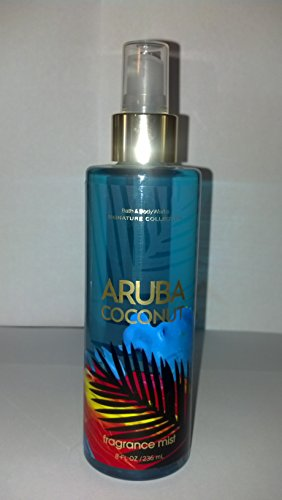 Bath & Body Works Aruba Coconut Body Mist 8 oz