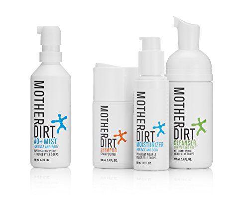 Mother Dirt 4 Product Natural Skin Care Bundle