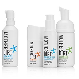 Mother Dirt 4 Product Natural Skin Care Bundle