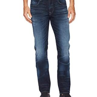 Hudson Jeans Men's Byron Straight Leg Zip Fly Jeans, Carson, 34