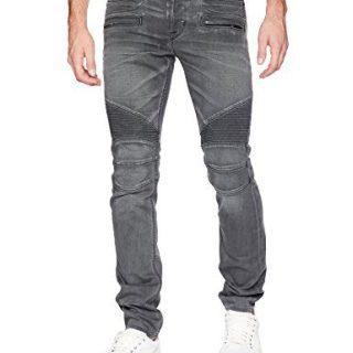 Hudson Jeans Men's Blinder Biker Moto Jeans, Mixtape, 32