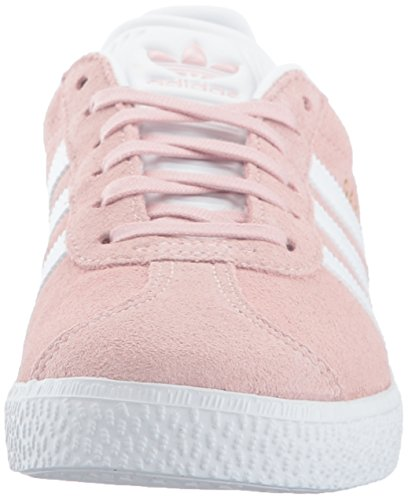 the best attitude c31c4 a29aa Home Shop Kids Girls Shoes adidas Originals Unisex-Kids Gazelle Sneaker, Ice  PinkWhiteGold Metallic, 4 M US Big Kid