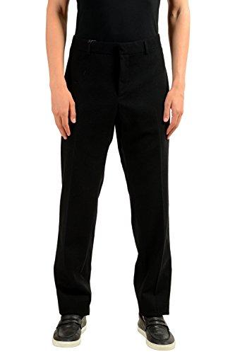 Gucci Men's Wool Black Dress Pants US 40 IT 56