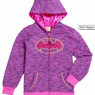 DC Comics Girls' Batgirl Costume Hoodie (6)