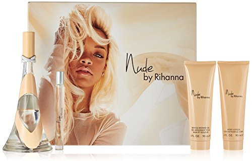 Rihanna 4 Piece Gift Set for Women, Nude