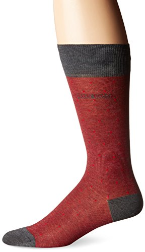 HUGO BOSS Men's Paul Design Dots Us, Bright Red, Sock Size: 10-13/Shoe Size:9-11