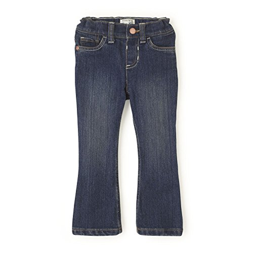 The Children's Place Baby Toddler Girls' Bootcut Jeans, China Blue, 3T