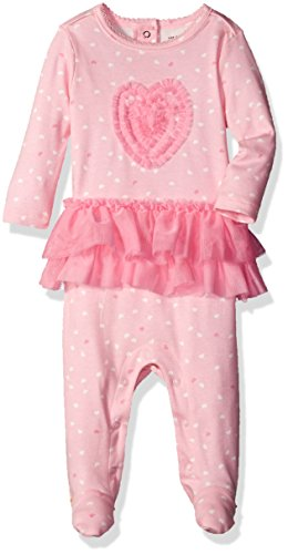 The Children's Place Baby Girls' Sleep 'N Play Romper, Tutu/Whisper Pink, Upto 7 Lbs