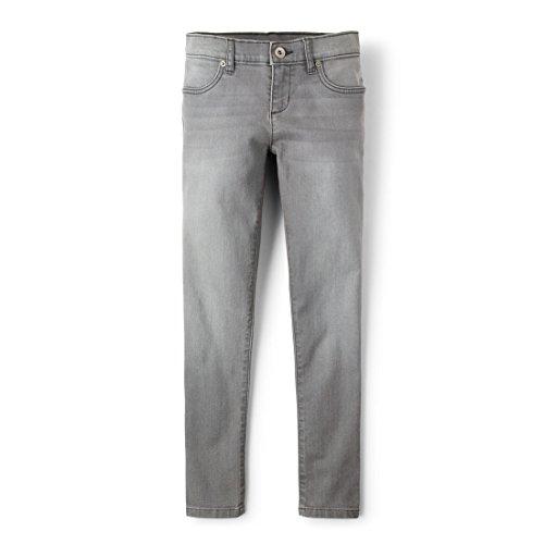 The Children's Place Big Girls' Denim Jeans, Gray Star Wash, 12