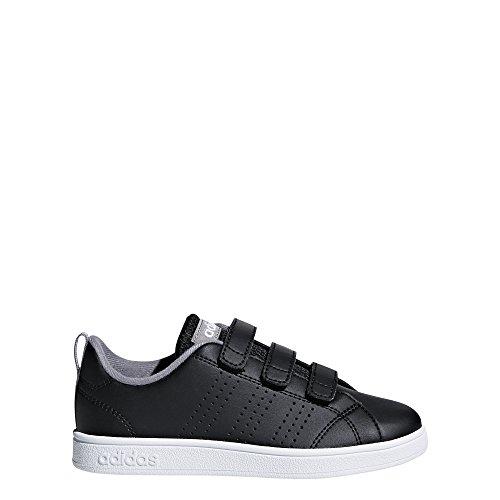 adidas Kids' VS Advantage Clean, Core Black/Core Black/Grey Three, 12 M US Little Kid