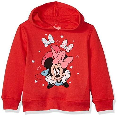 Disney Toddler Girls' Minnie Mouse Pullover Fleece, Minnie Bow, 3T