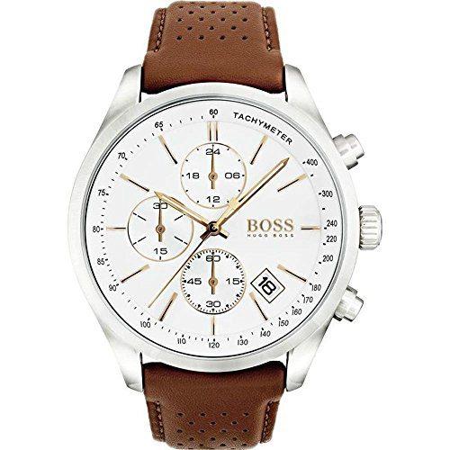 Hugo Boss Grand Prix Chronograph Brown Men's Quartz Watch