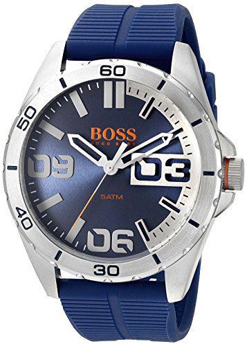 BOSS Orange Men's Berlin Analog Display Quartz Blue Watch